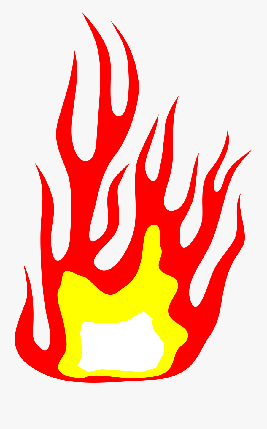 Free Fire Clipart Png Transparent - Free Flames Png Files, Transparent Clipart