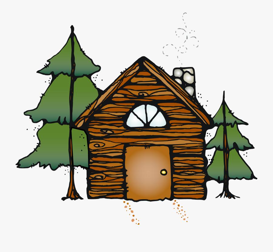Clip Art Christmas Cabin Clip Art - Cabin Clip Art Transparent, Transparent Clipart
