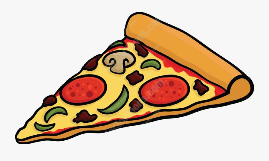 Pizza Clipart Slice Of Cartoon Vector Toons For Teachers - Slice Of Pizza Cartoon, Transparent Clipart