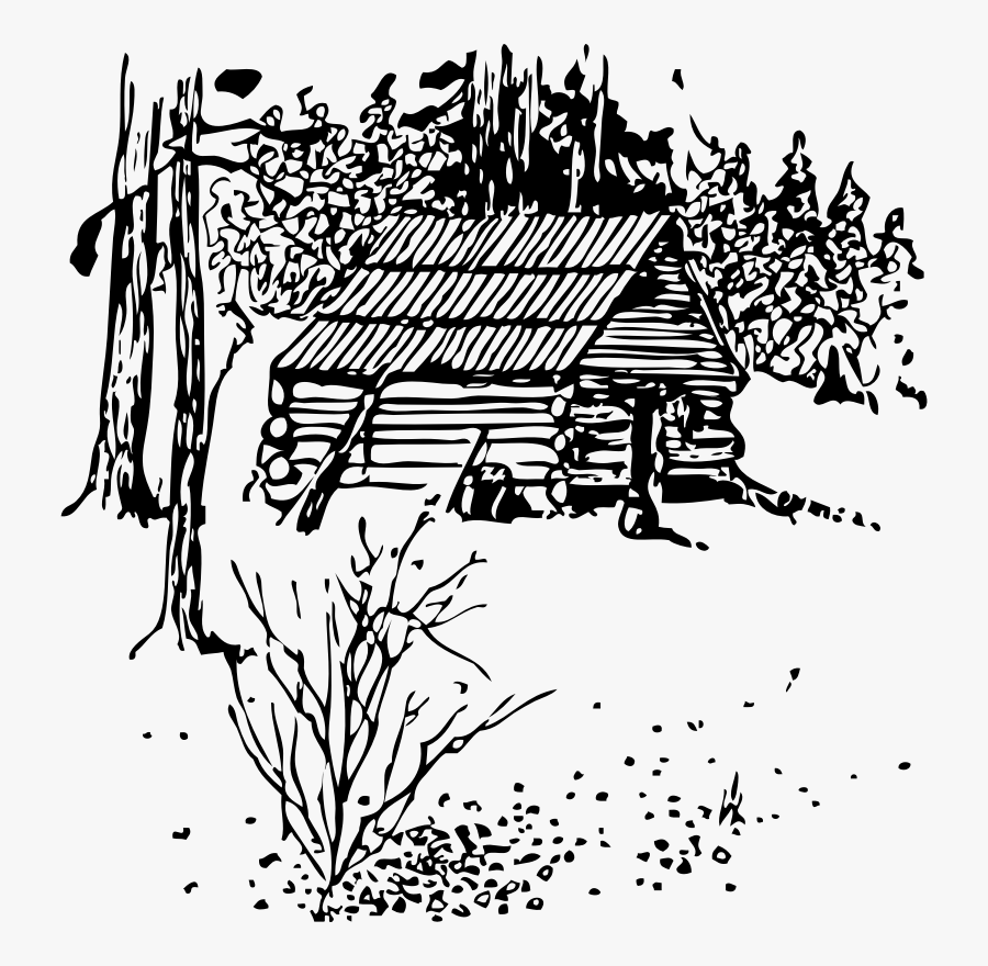 Cabin - Old Cabin Clipart, Transparent Clipart