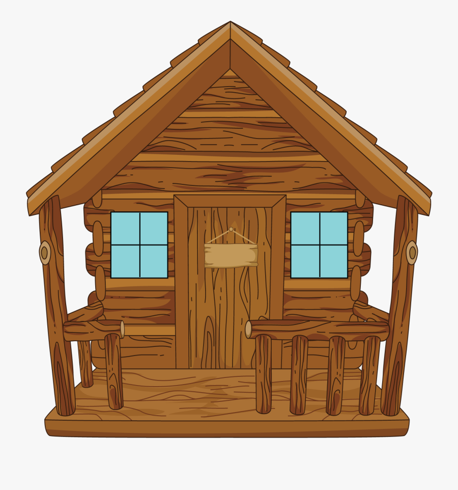 Cabin Clipart Lodging - Transparent Cabin, Transparent Clipart