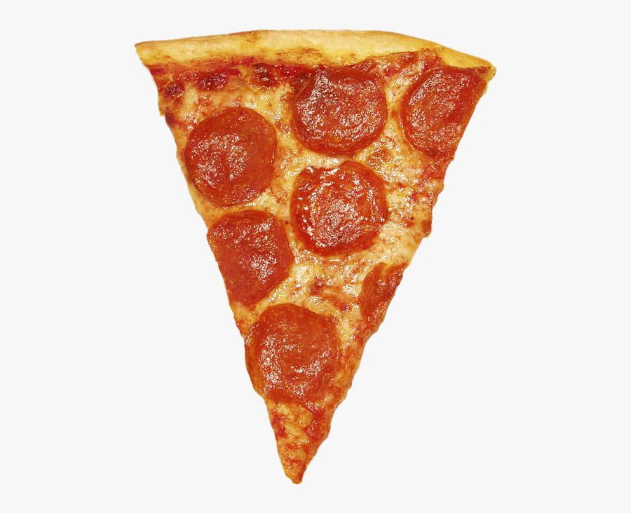 Clip Art Duvet Cover For Sale - Pizza Slice, Transparent Clipart