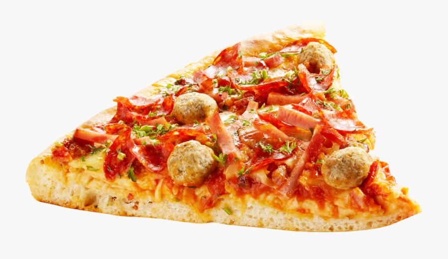 Clip Art Png Image Purepng Free - Pizza Slice Background Transparent, Transparent Clipart
