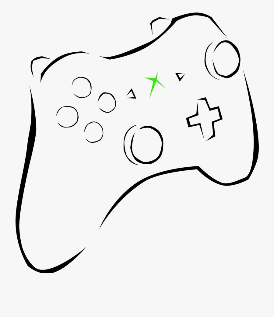 Transparent Controller Clip Art Png - Game Controller, Transparent Clipart
