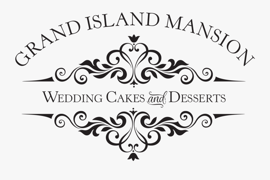 Grand Island Mansion Wedding Cakes And Desserts - Mr And Mrs Smith, Transparent Clipart