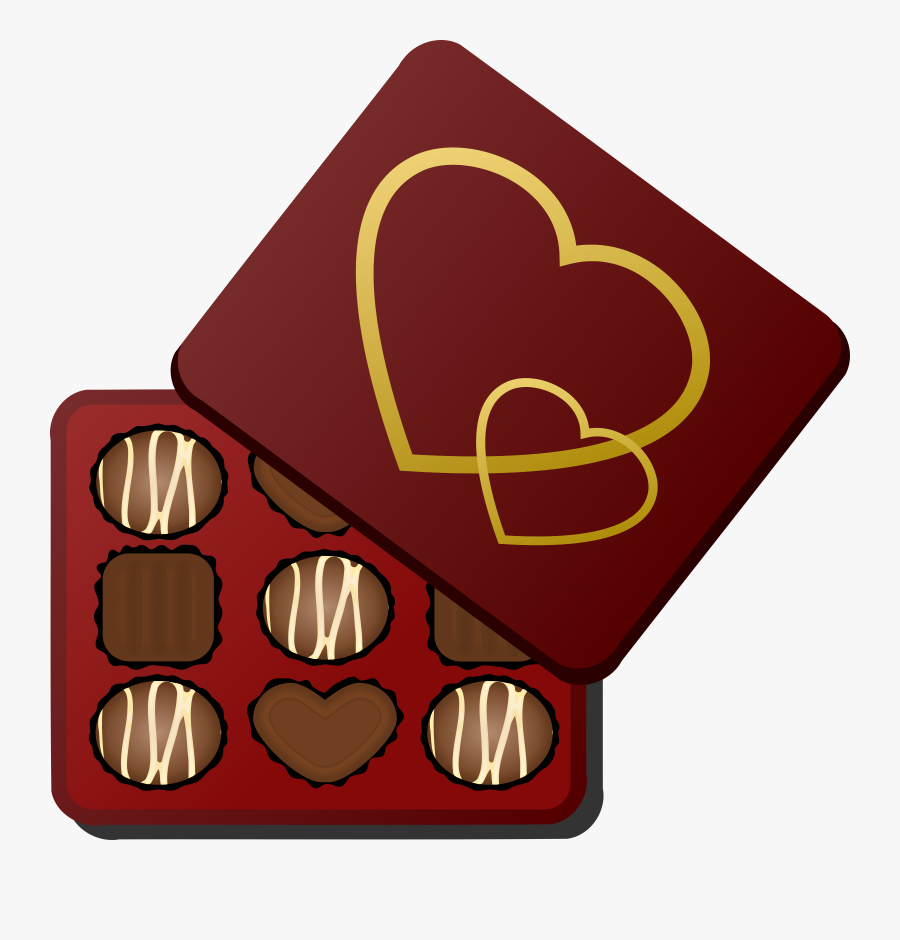Box Of Big Image - Box Of Chocolate Clipart, Transparent Clipart