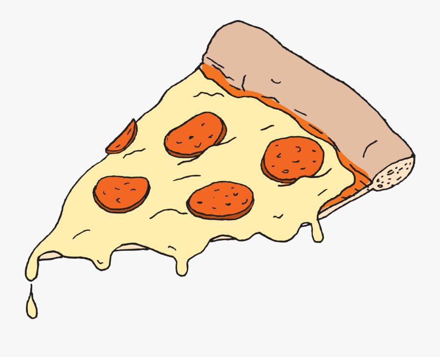 Transparent Pizza Slice Png - Tmnt Pizza Slice, Transparent Clipart