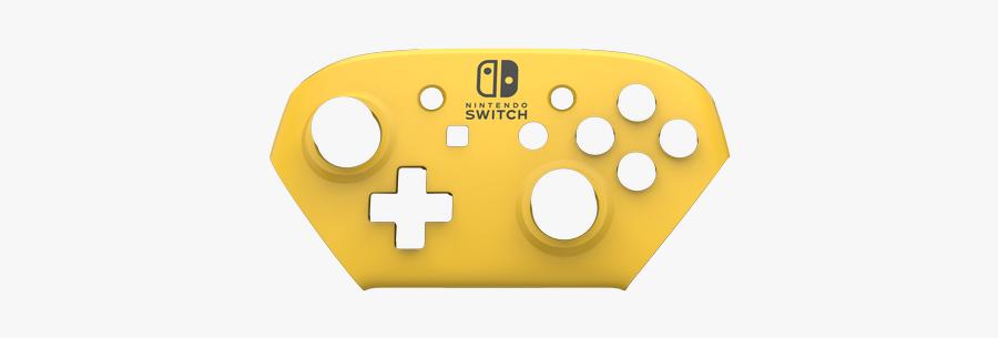 Caution Matte - Skins Nintendo Switch Pro Controller Template, Transparent Clipart