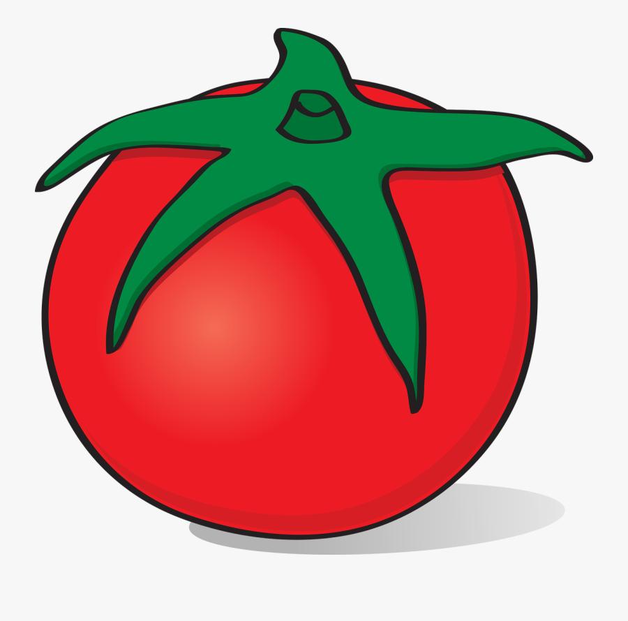 Transparent Vegetable Clipart - Transparent Tomato Plant Clipart, Transparent Clipart