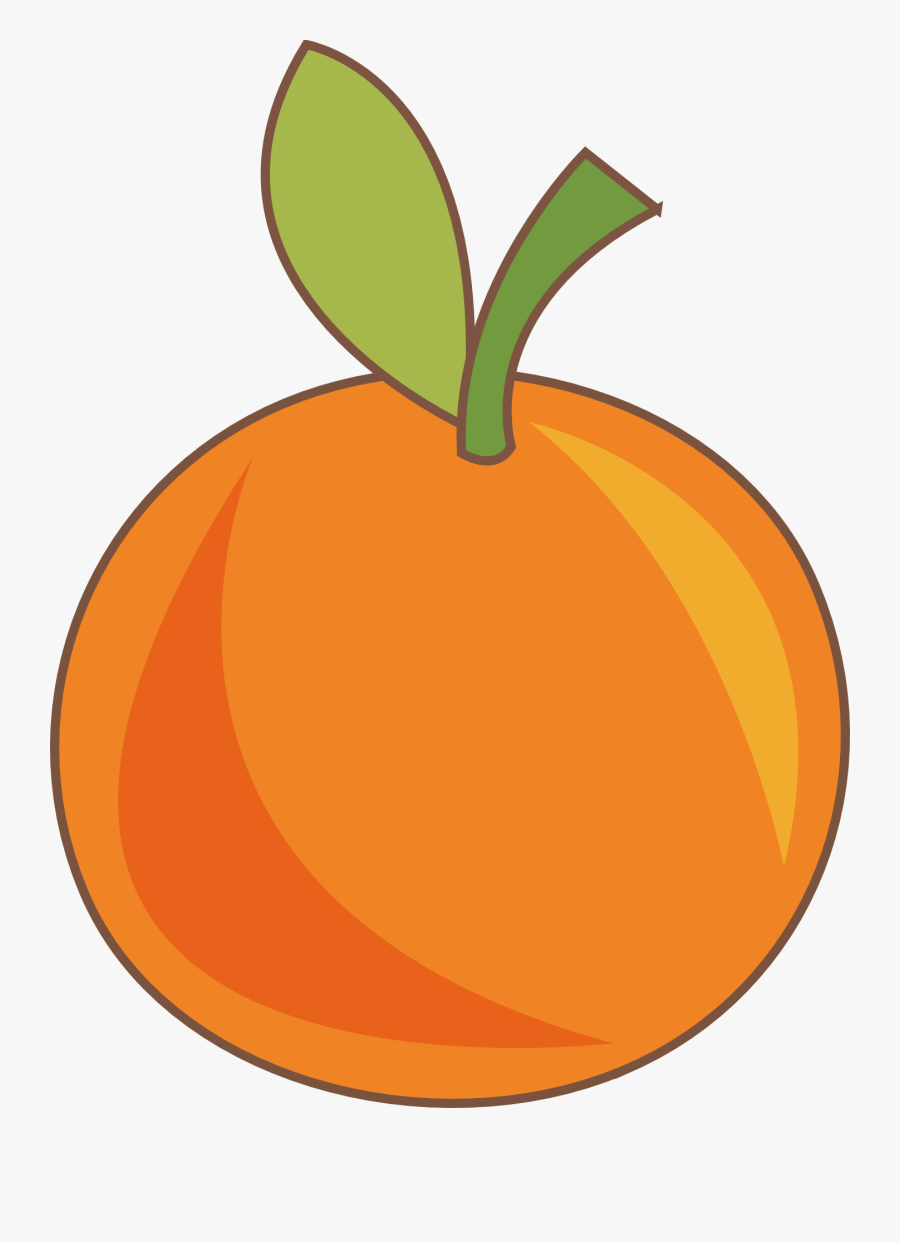 Drawing Vegetable Fruit Clip Art Freeuse Download - Orange Fruit Drawing Png, Transparent Clipart