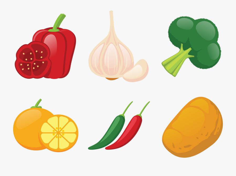 Bell Pepper Winter Squash Vegetable Illustration - Free Vegetable Png Illustrations, Transparent Clipart