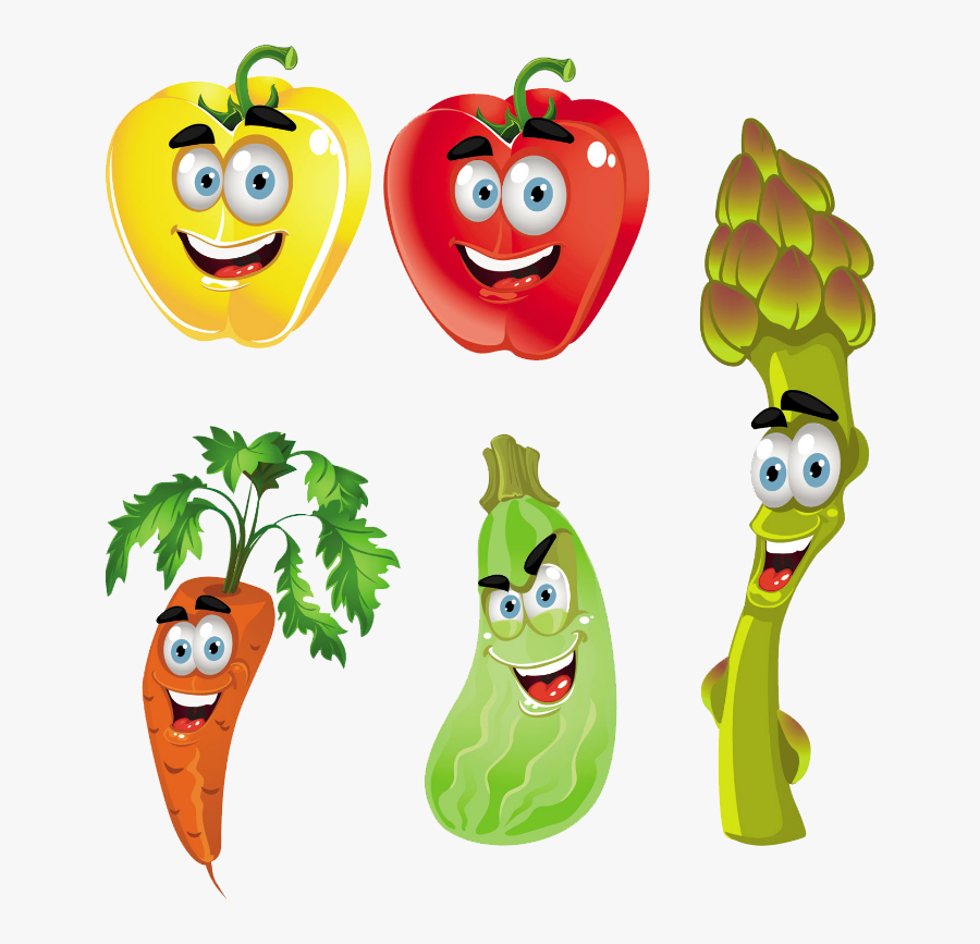 Clip Art Vegetable Fruit Clip Art - Animation Animated Fruits And Vegetables, Transparent Clipart