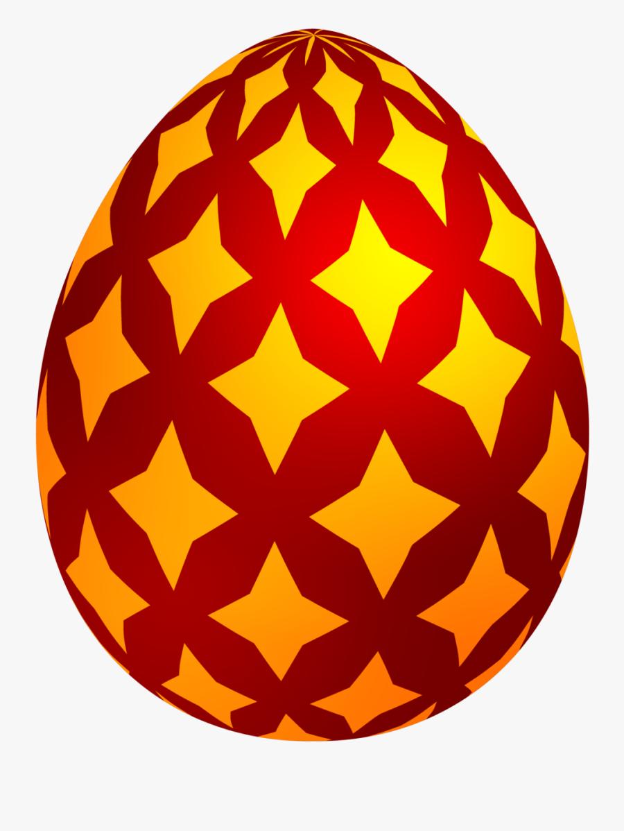 Red Easter Egg Png - Transparent Easter Egg Png, Transparent Clipart