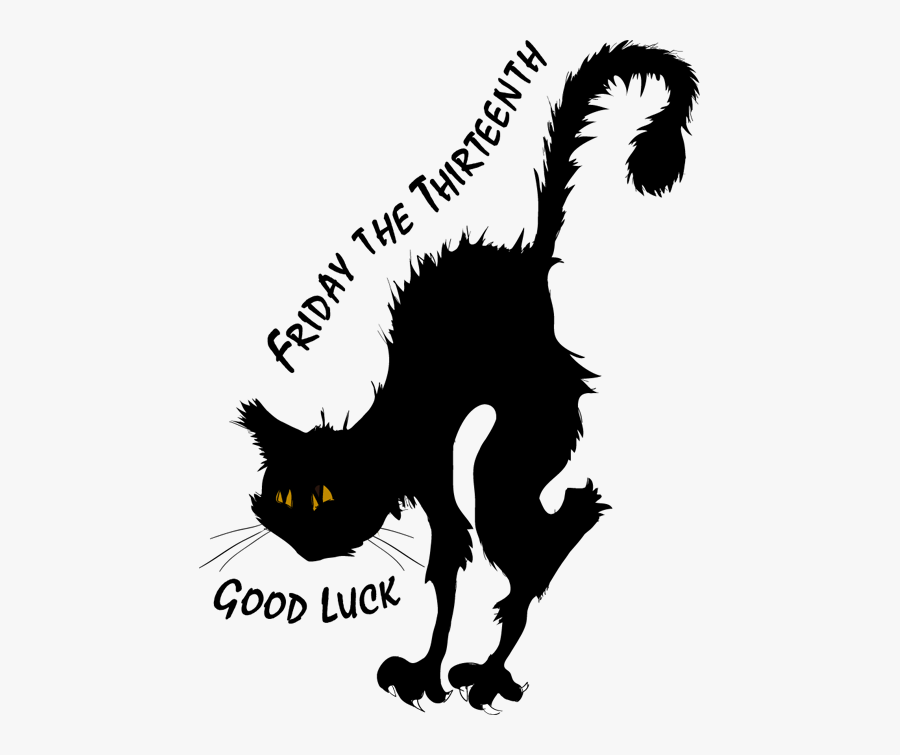 Happy Friday The Th Clipart - Free Friday The 13th Clip Art, Transparent Clipart