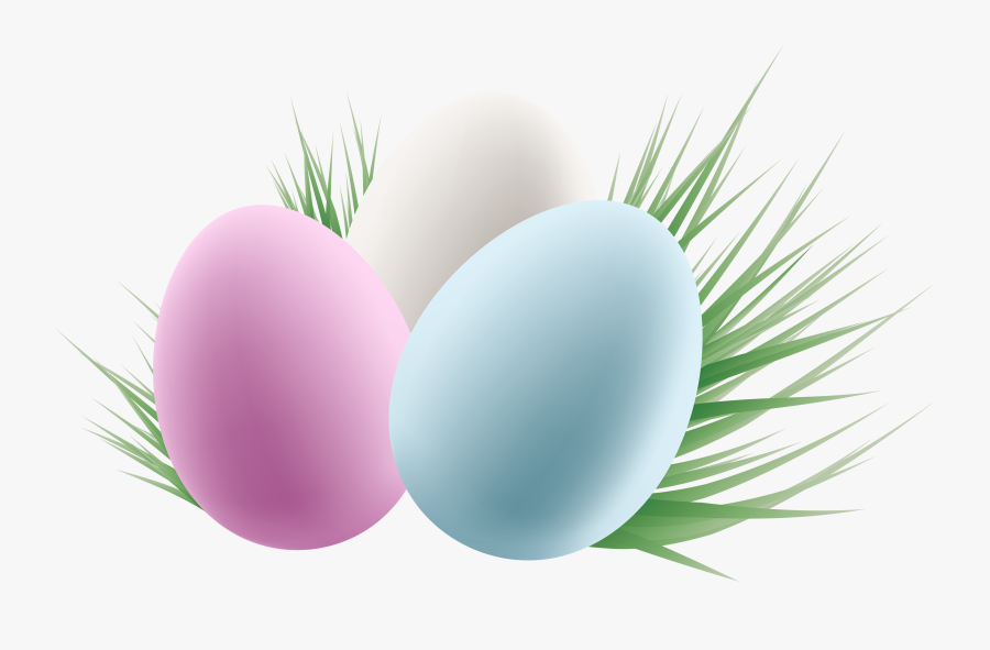 Transparent Easter Eggs And Grass Png Clipart Picture - Easter Eggs Transparent Background, Transparent Clipart