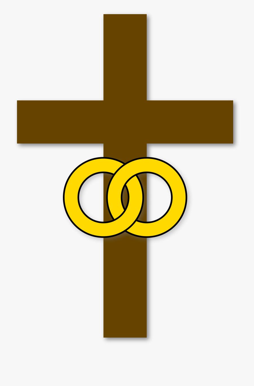 Cross Clipart Resurrection - Symbol Of Marriage, Transparent Clipart