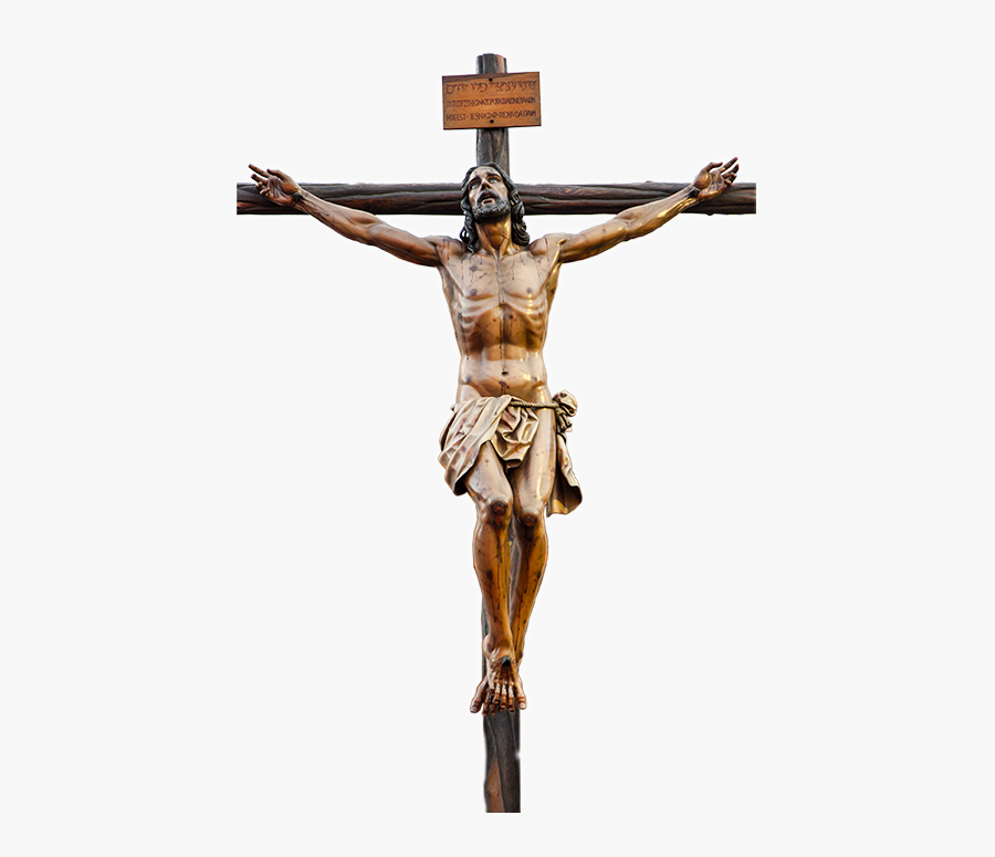 Crucifixion Of Jesus Christian Cross Crucifixion In - Jesus On Cross Png, Transparent Clipart