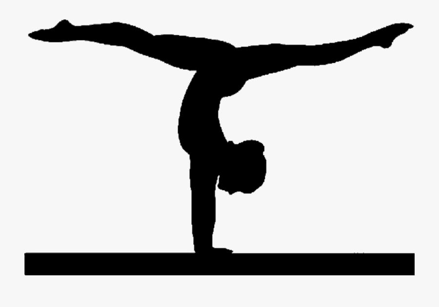 Clip Art Gymnastic Pictures - Transparent Background Gymnastics Clipart, Transparent Clipart