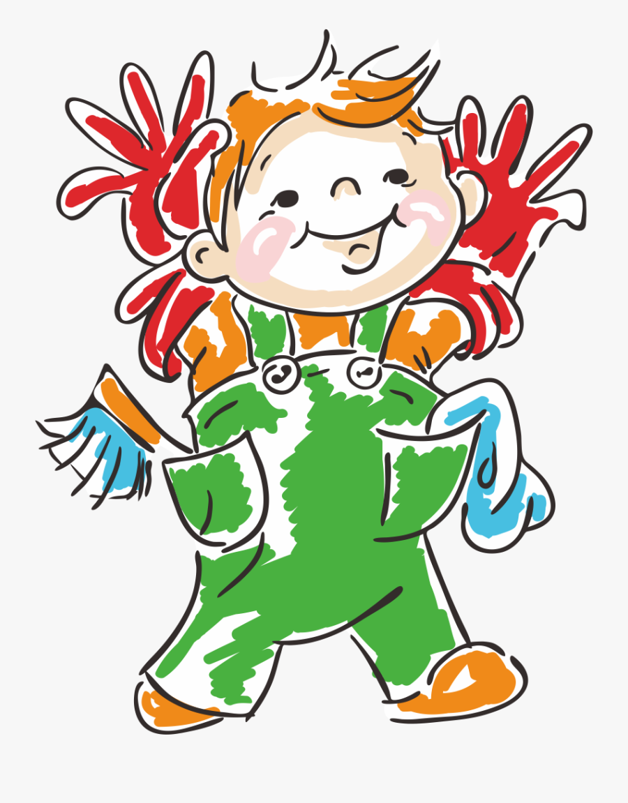 Classroom Child Student Cleaning Clip Art - Students Cleaning Classroom Png, Transparent Clipart