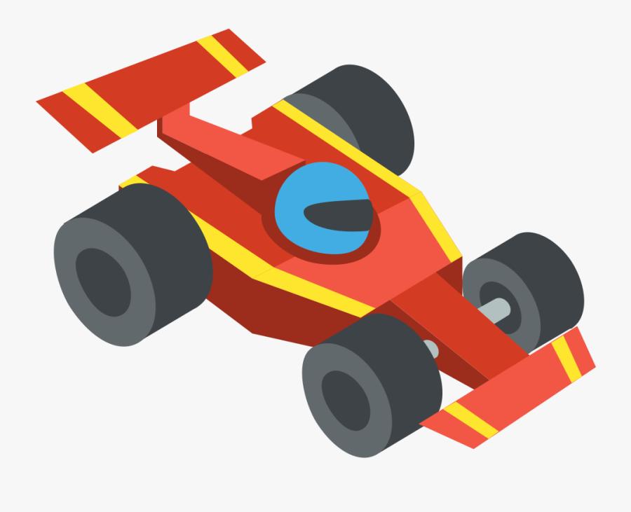 File - Emojione 1f3ce - Svg - Race Car Icon Png Clipart - Race Car Icon Png, Transparent Clipart