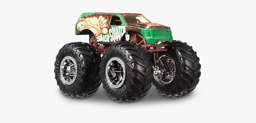 Hot Wheels Monster Trucks Smash Squatch, Transparent Clipart