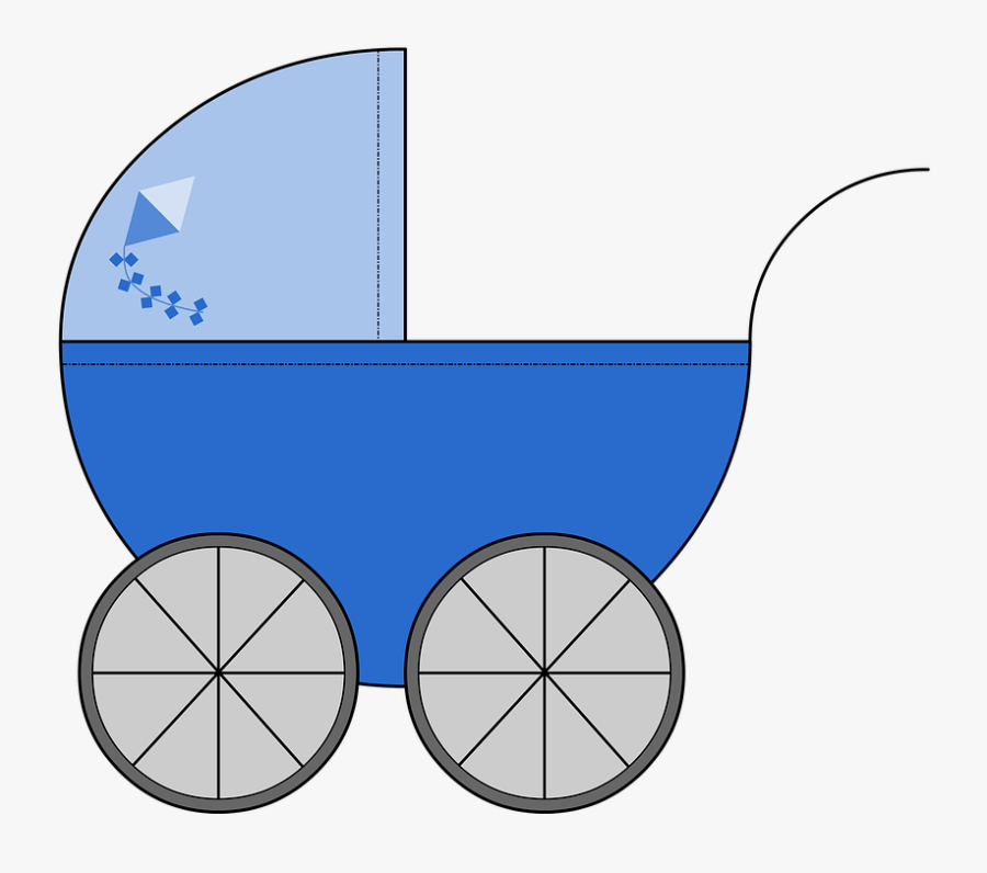 Baby Clothes Clipart 21, Buy Clip Art - Carrinho De Bebe Desenho Verde, Transparent Clipart