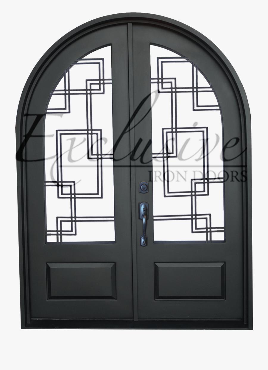 Door Png Round - Screen Door, Transparent Clipart