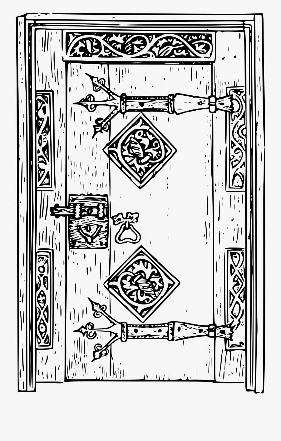 Ancient Door Clip Arts - Old Doors Clip Art, Transparent Clipart