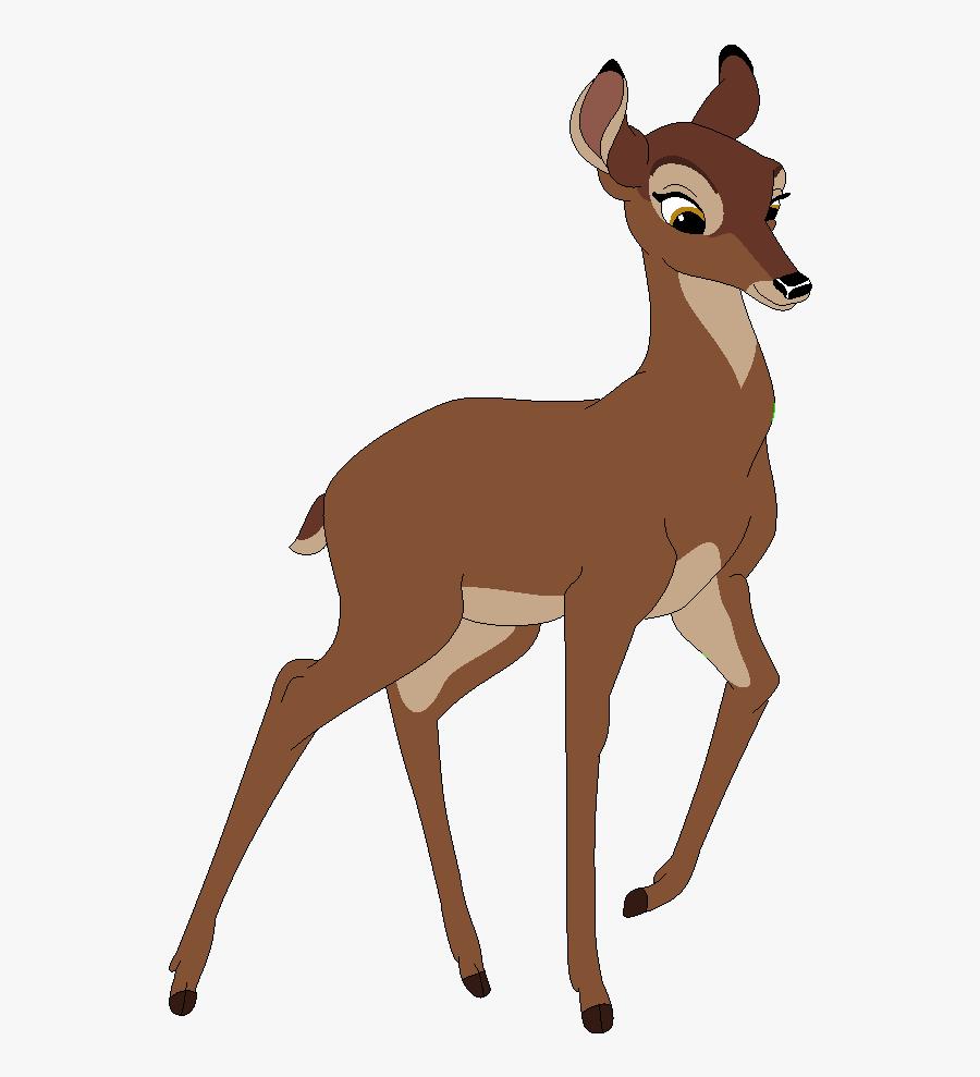 Drawn Bambi Base - Bambi's Mom Png, Transparent Clipart