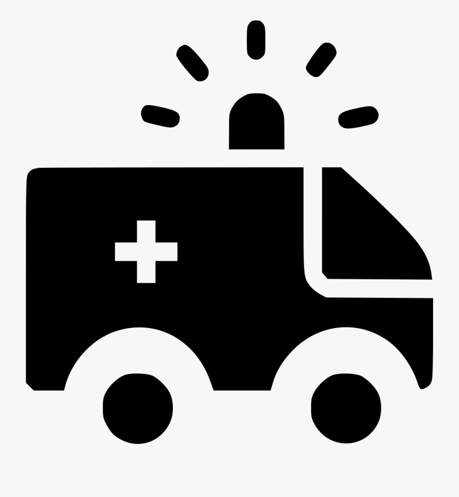 Ambulance Transportation Van Healthcare Emergency Medical - Health Care Emergency Icon, Transparent Clipart