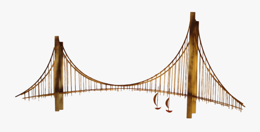 Suspension Bridge Png, Transparent Clipart