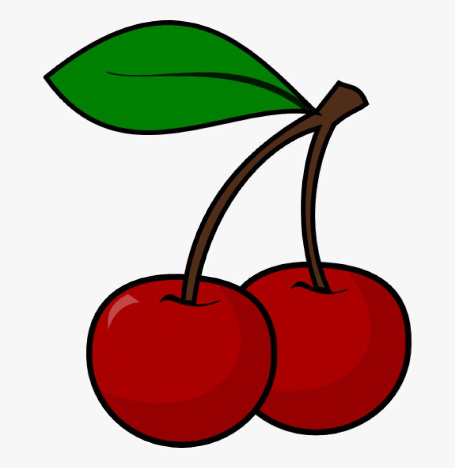 Cherry Clipart Cherry Outline - Cherries Clipart, Transparent Clipart