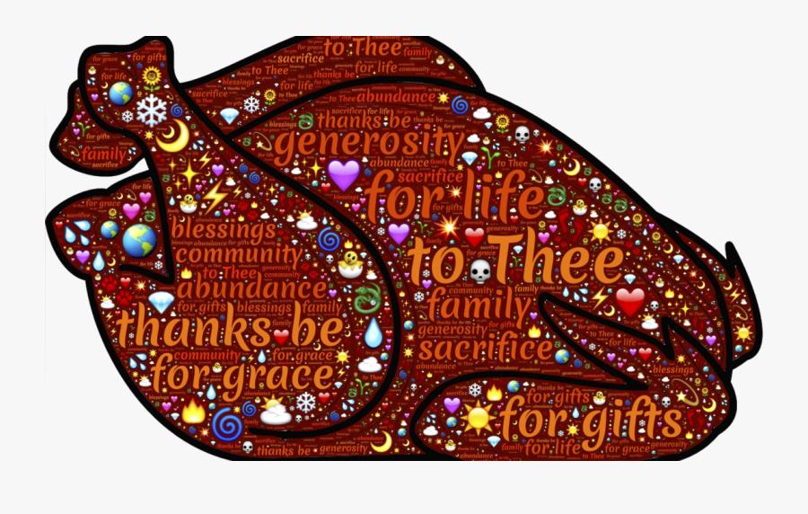 Os Desejos E Agradecimentos Realizado No Dia De Ação - Thanksgiving Basket Graphics, Transparent Clipart