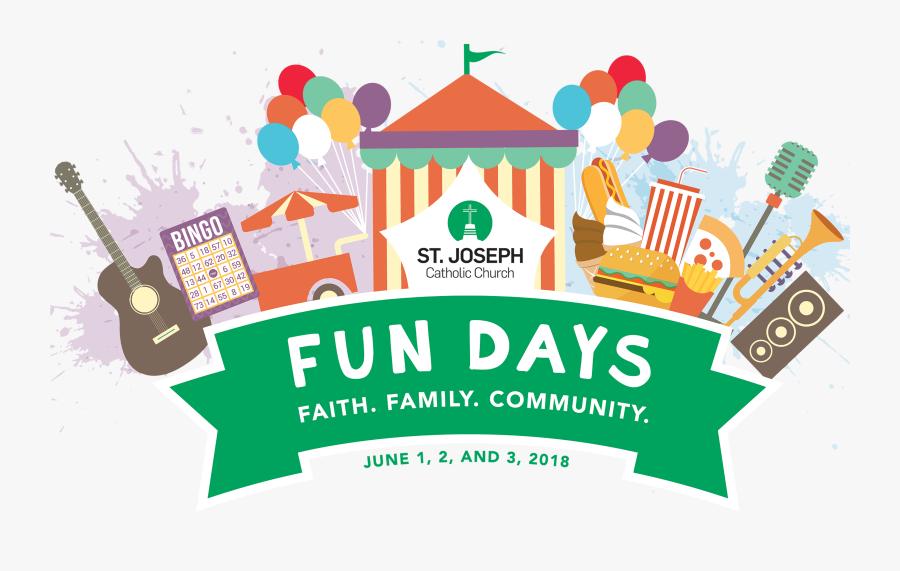 Joseph Fun Days - Illustration, Transparent Clipart