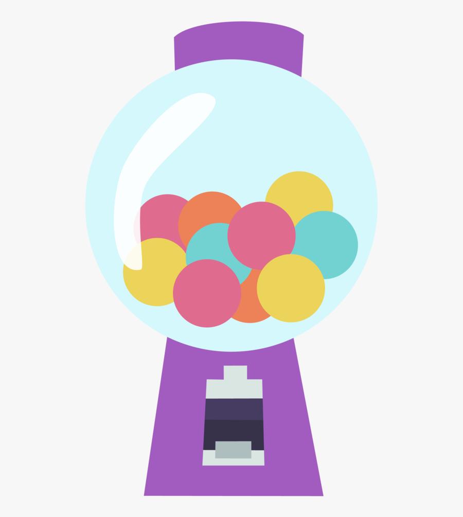 Bubblegum Machine Clipart - Mlp Bubble Gum Cutie Mark, Transparent Clipart