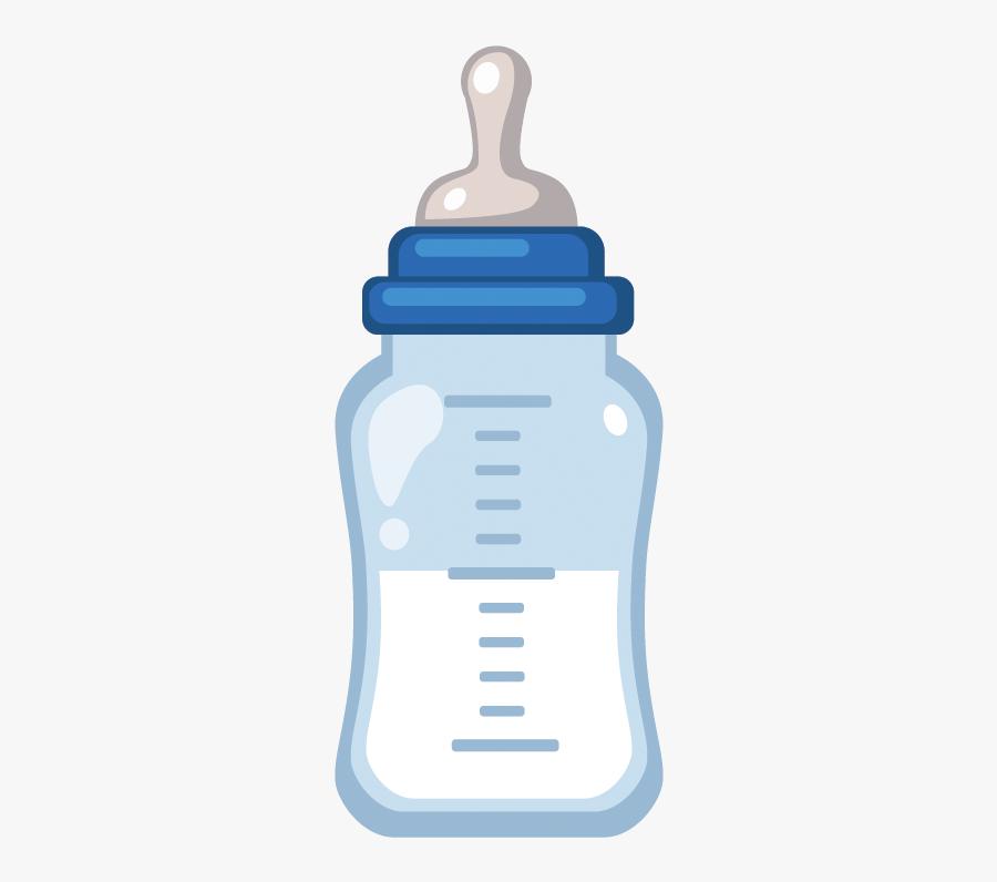 Baby Bottle Milk Infant - Bottle Of Milk Png, Transparent Clipart