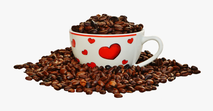 Coffee Beans Cup Png - Picmix Guten Morgen Gif, Transparent Clipart