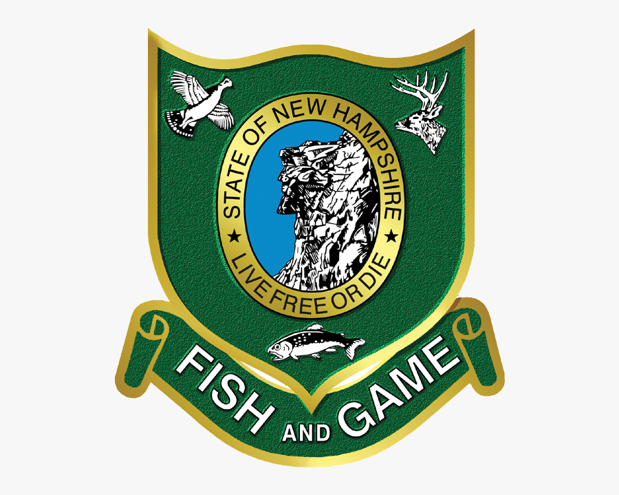 Nh Fish & Game - Nh Fish And Game Logo, Transparent Clipart