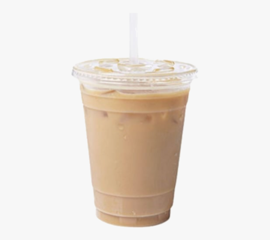 #coffee #icedcoffee #latte #drink #refreshment #starbucks - Hong Kong-style Milk Tea, Transparent Clipart