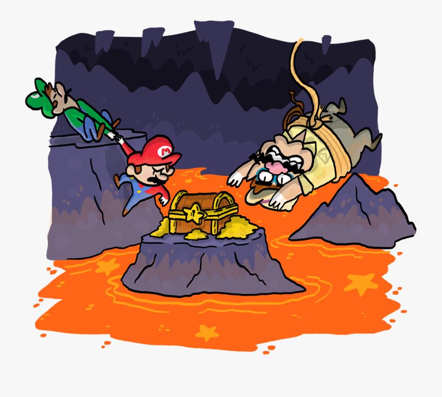 """""""treasure Hunters """" Clipart , Png Download - Cartoon, Transparent Clipart"""