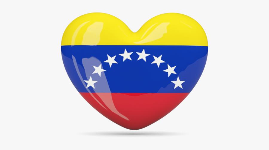 Venezuela Flag Heart - Venezuela Flag Heart Png, Transparent Clipart