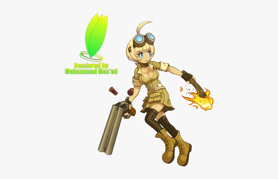 Hunter Clipart Female Hunter - Lost Saga Treasure Hunter, Transparent Clipart