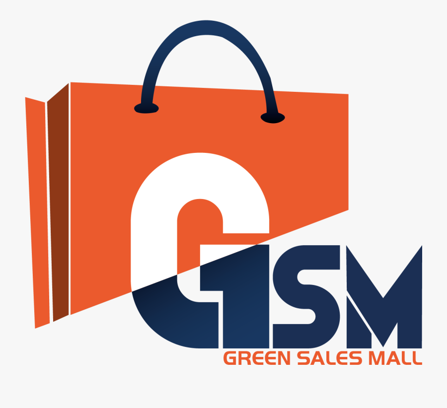 Green Sales Mall, Transparent Clipart