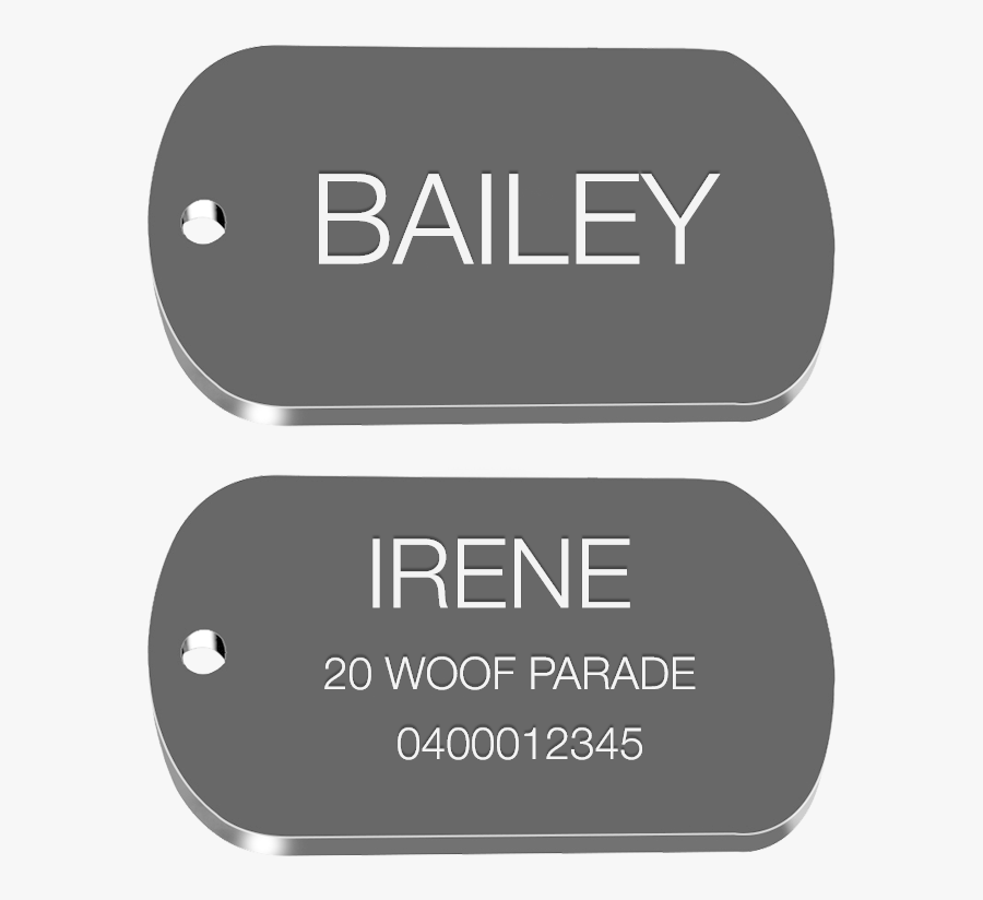 Transparent Military Dog Tags Png - Pacific Northwest Ballet, Transparent Clipart