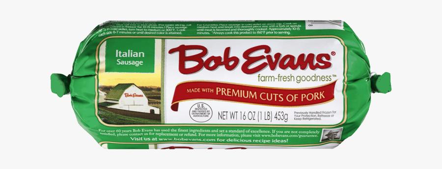 Bob Evans Italian Roll Sausage - Bob Evans Italian Sausage, Transparent Clipart