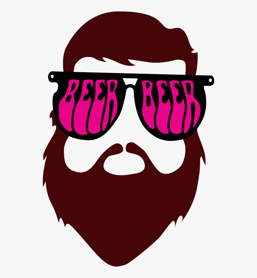 Beard Man Tee Clipart , Png Download, Transparent Clipart