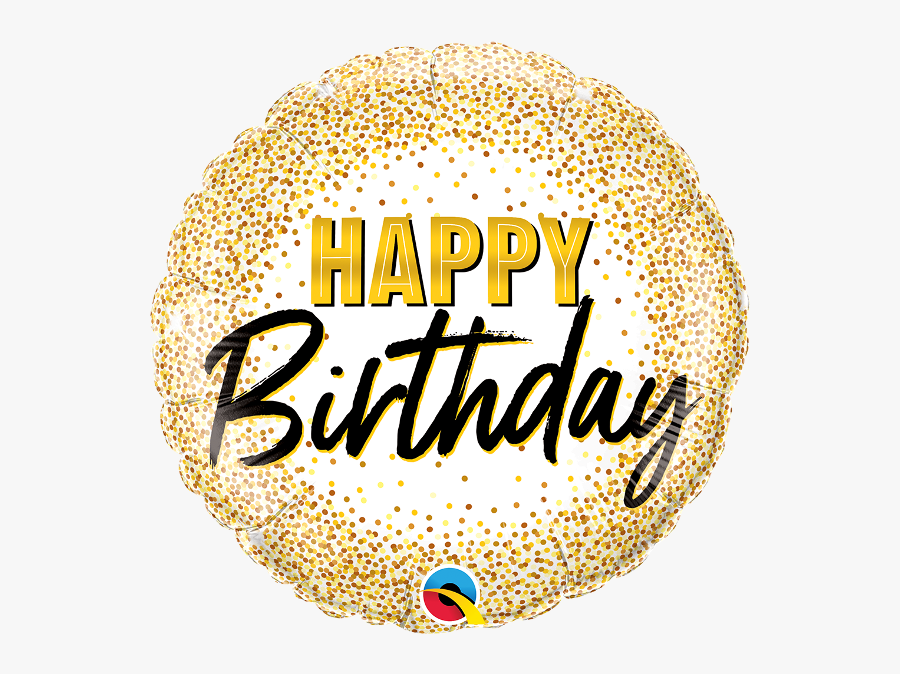Transparent Happy Birthday Gold Png - Happy Birthday Png Text Gold, Transparent Clipart