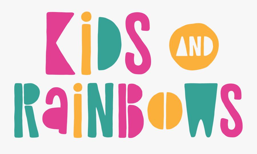 Kids & Rainbows - Graphic Design, Transparent Clipart