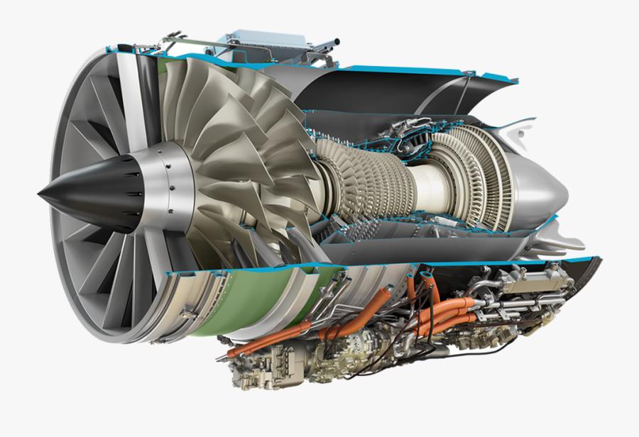 Jet Engine Png - Ge Affinity Engine, Transparent Clipart