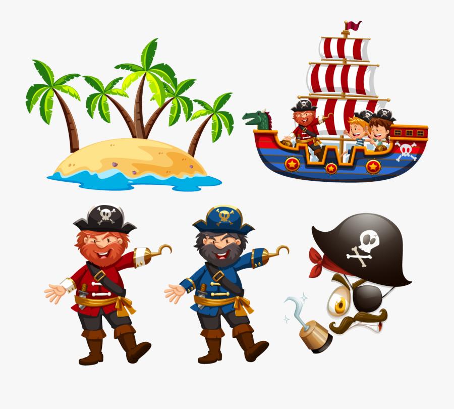 captain hook piracy euclidean vector illustration